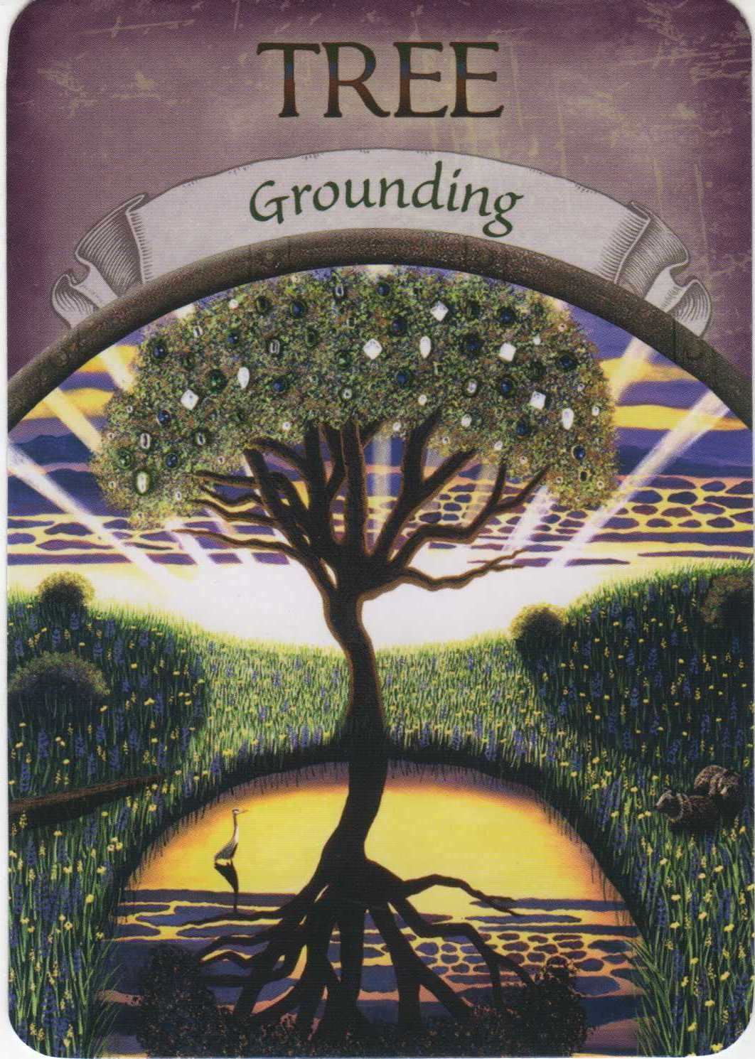 The Meaning of the Grounding Oracle Card